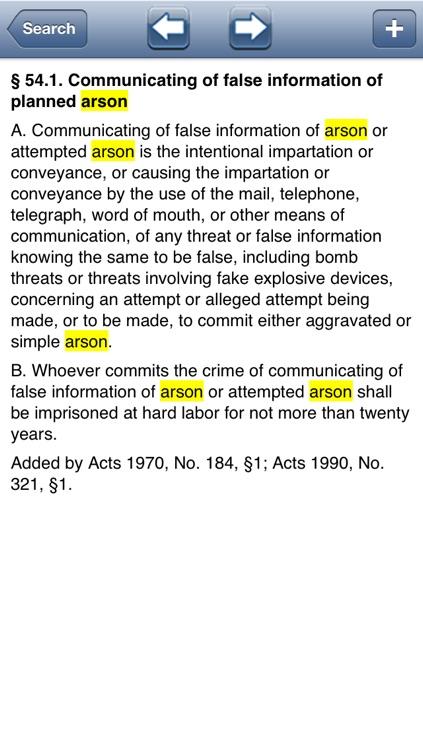 LA Criminal Code 2016 - Louisiana Title 14