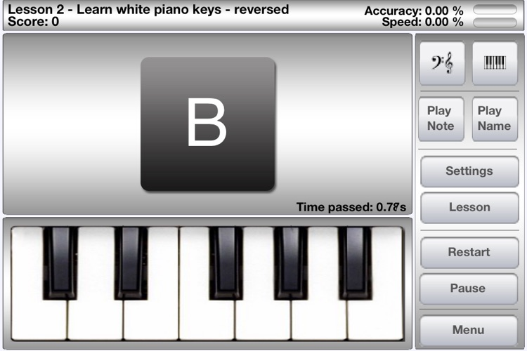 iLovePiano Free - Learn to play piano notes with interactive training lessons screenshot-4