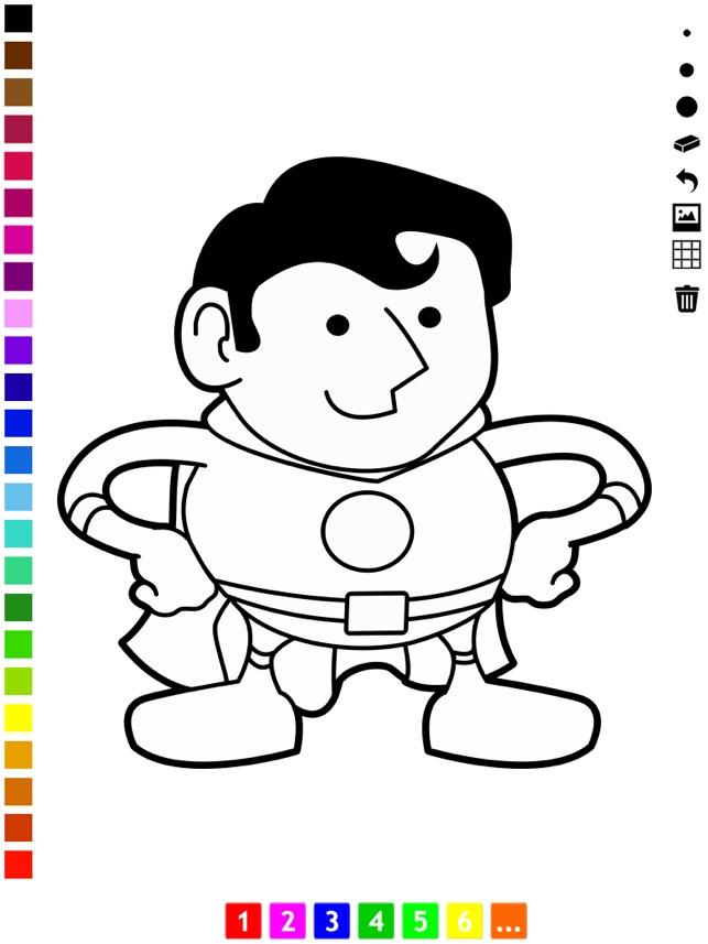Aktif Boyama Kitabı Arasında Meslekler çocuklar Için çizmek