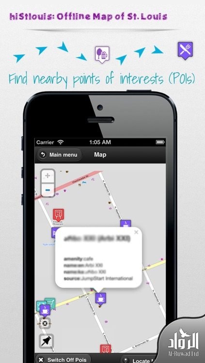 hiStlouis: Offline Map of St. Louis