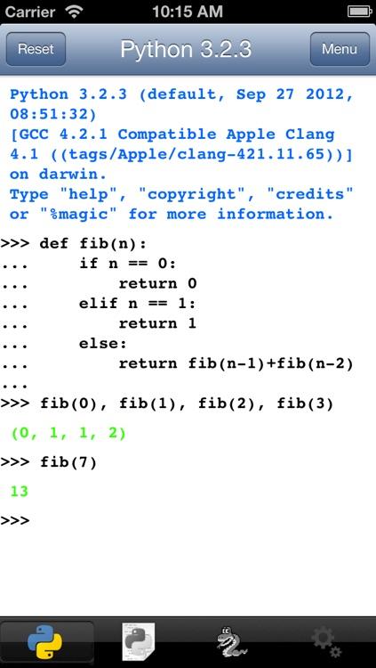 Python 3.2 for iOS