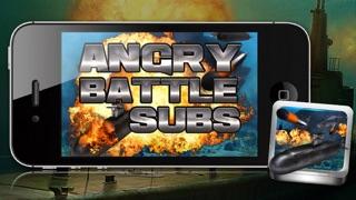 怒っバトル潜水艦 - 戦争潜水艦ゲーム!のおすすめ画像3