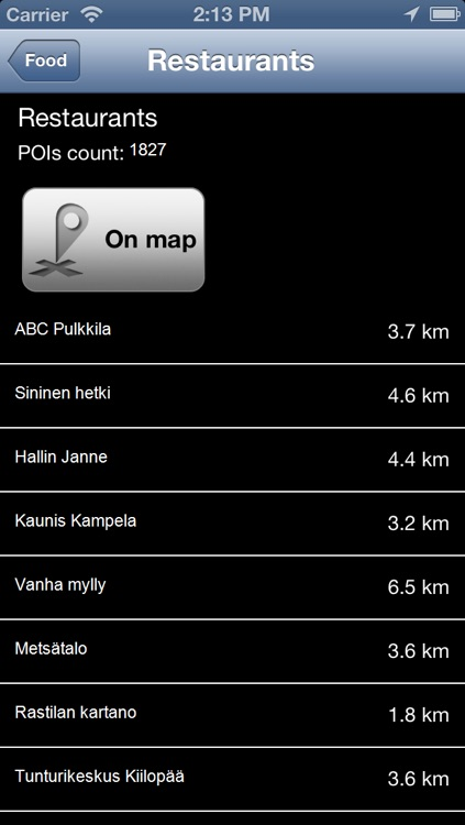 Finland Offline Map - PLACE STARS screenshot-3