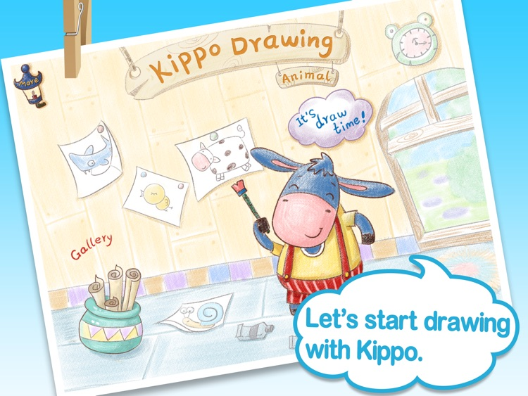 Kippo Drawing Animal - step by step tutorials