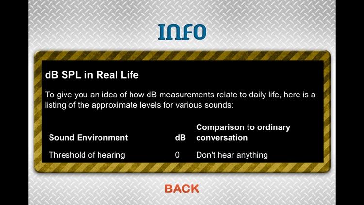 Sound Meter Pro screenshot-3