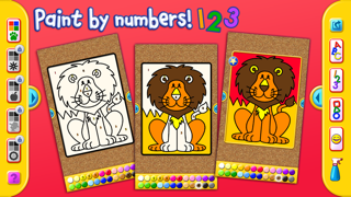 I Like to Paint Letters, Numbers, and Shapes Liteのおすすめ画像2