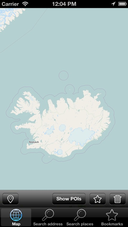 Offline Map Iceland (Golden Forge)