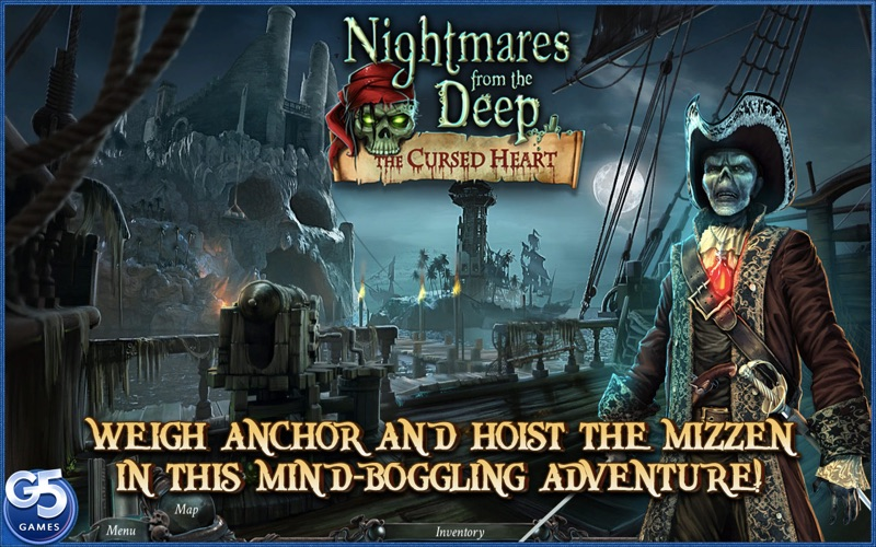 Nightmares from the Deep: The Cursed Heart, Collector's Edition (Full) Screenshots