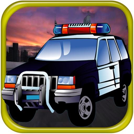 Doodle полиция автомобиль Хилл Гонки Бесплатные игры