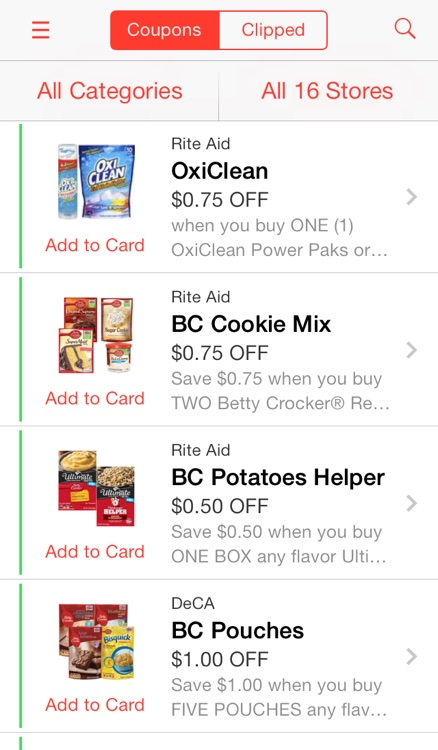 Pushpins Grocery Coupons & Lists