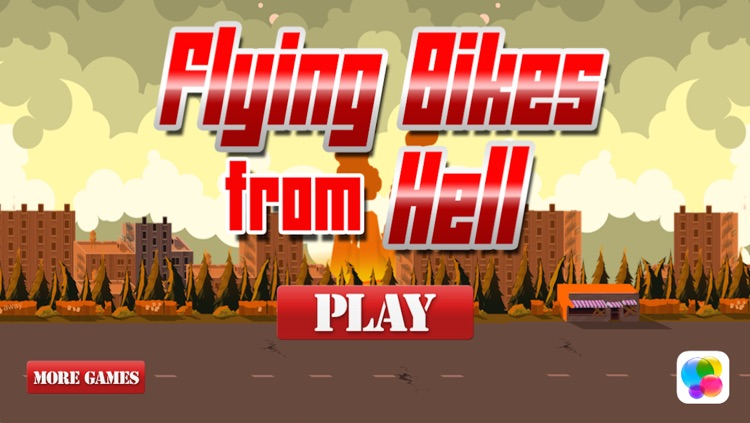 A Flying Bike from Hell – High Speed Motorcycle Adventure Race on the Streets of Danger screenshot-4