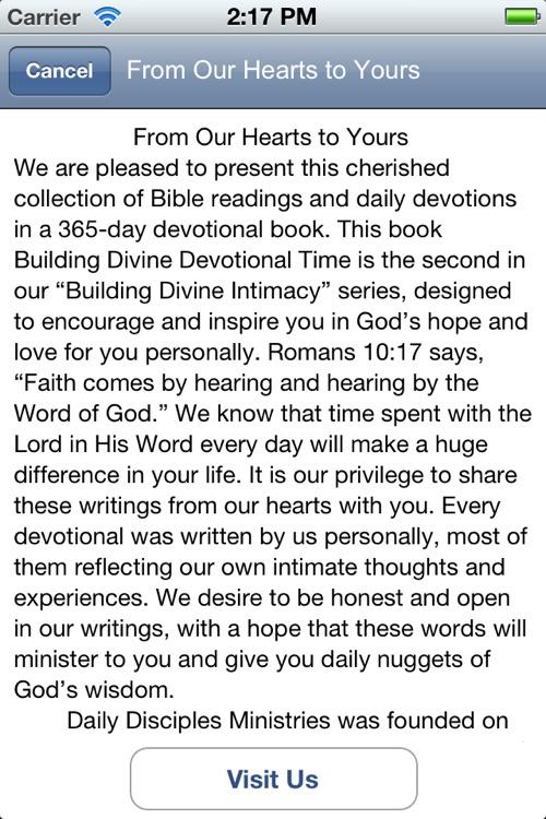 Daily Disciples Devotions screenshot-3