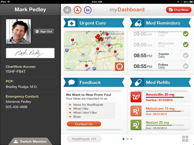 Healthspek - Personal Health Record & Family Health Record - Complete Medical Record screenshot-2