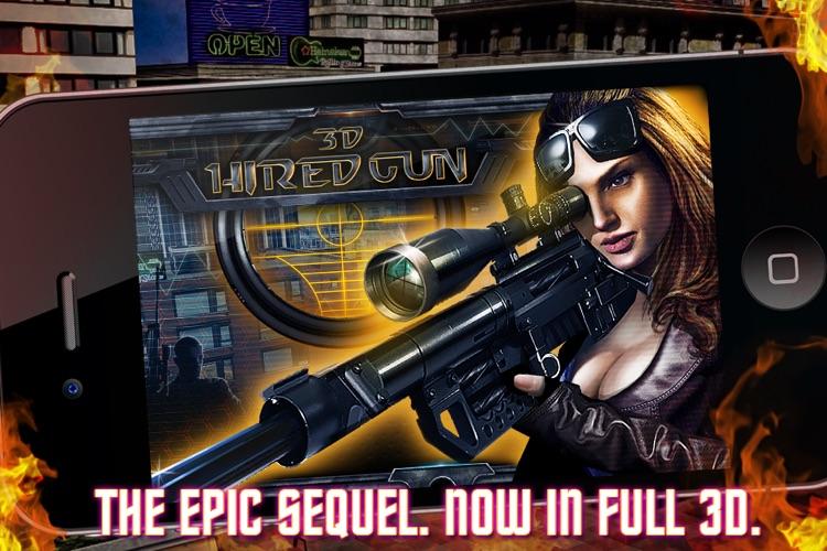 Hired Gun 3D screenshot-4