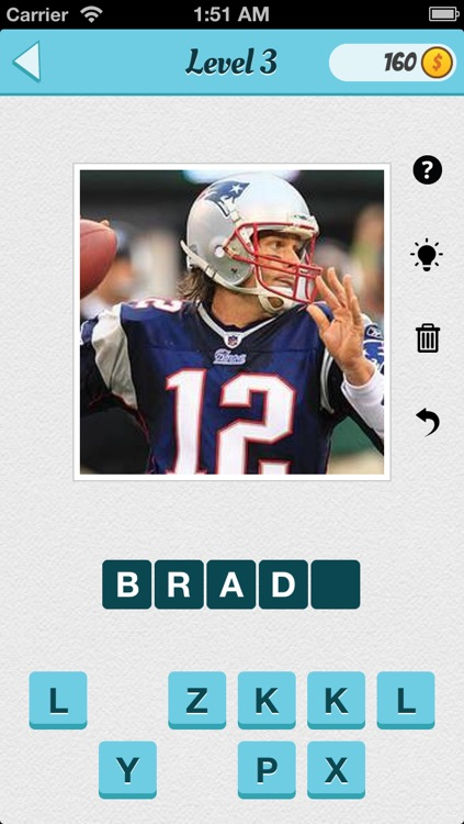Wubu Guess the Footballer - American Football - FREE Quiz Game