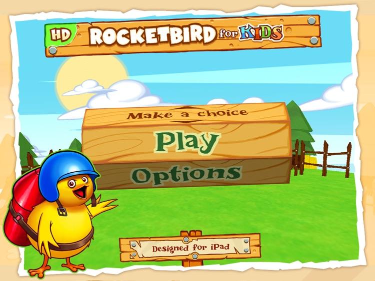 RocketBird For Kids HD screenshot-4