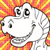 Color Mix (Dinosaur): Learn Paint Colors by Mixing Paints & Drawing Dinosaurs for Preschool Children - iPhoneアプリ
