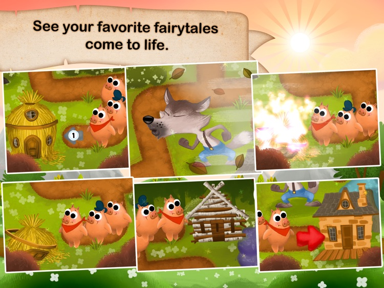Fairytale Maze 123 Free - Fun learning with Children animated puzzle game screenshot-3