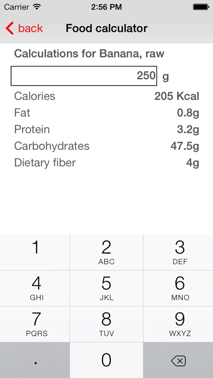 Diet Signal - LCHF/ketogenic/low carb food guide screenshot-4