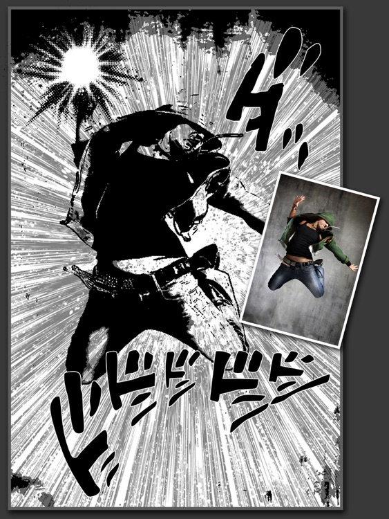 Manga Comics Camera for iPad screenshot-3