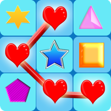 Activities of Neon Glow Shapes Puzzle: Threes a Match!
