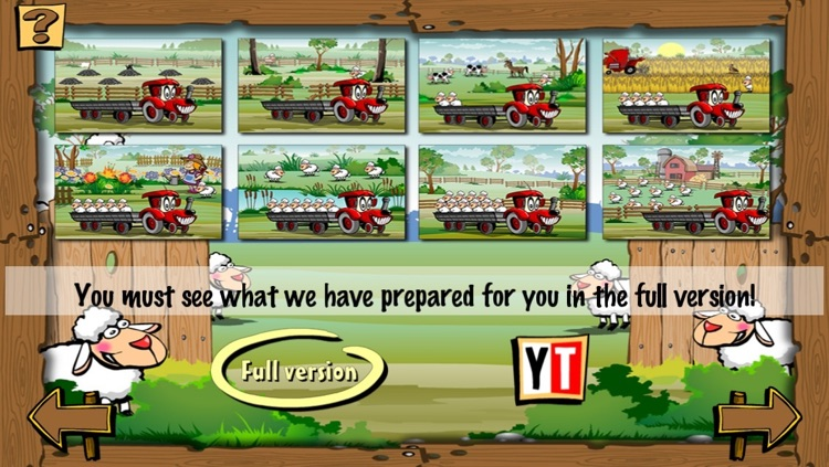Ben the Tractor and the lost sheep LITE screenshot-4