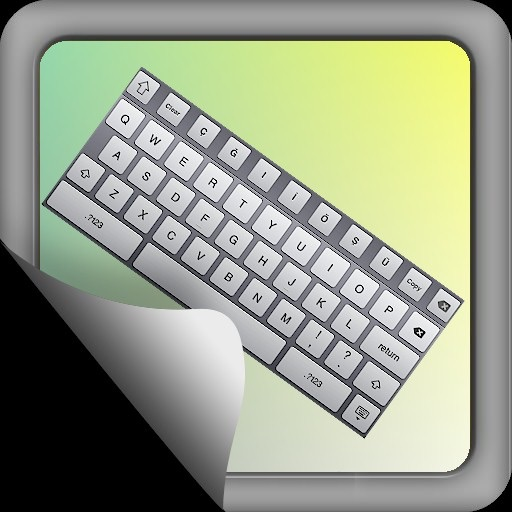 Turkish Keyboard for iPad