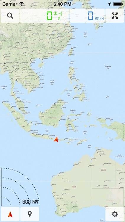 Indonesia Offline Map Indonesia (incl. Bali)   Offline Map & GPS Navigator by Vasilijs