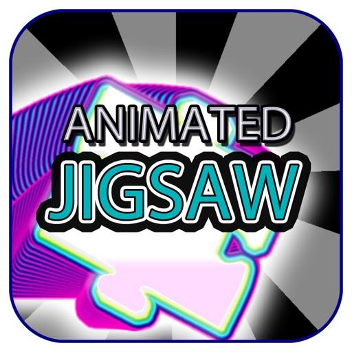 Animated Jigsaw Art Elements (Expressionist Style)