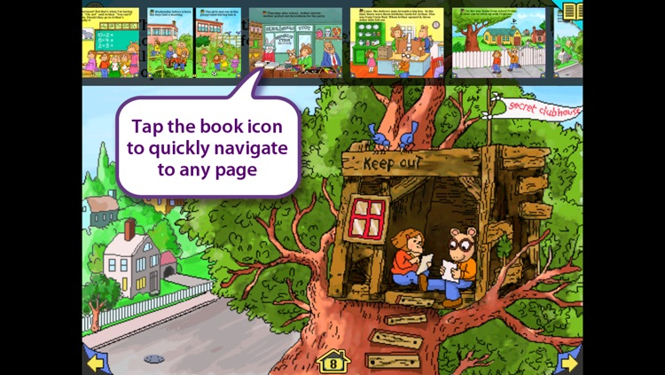 Arthur's Birthday – Wanderful interactive storybook in UK English and French