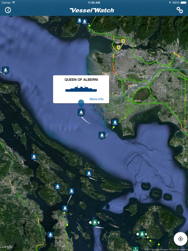 Vessel Watch Pacific Northwest Ferries