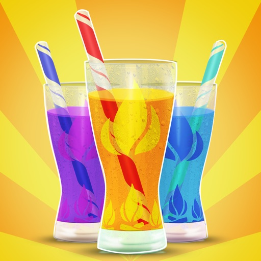 Flavored Slushie Drink Maker Pro - cool kids smoothie drinking game icon