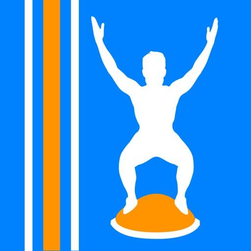 Virtual Trainer Bosu Ball