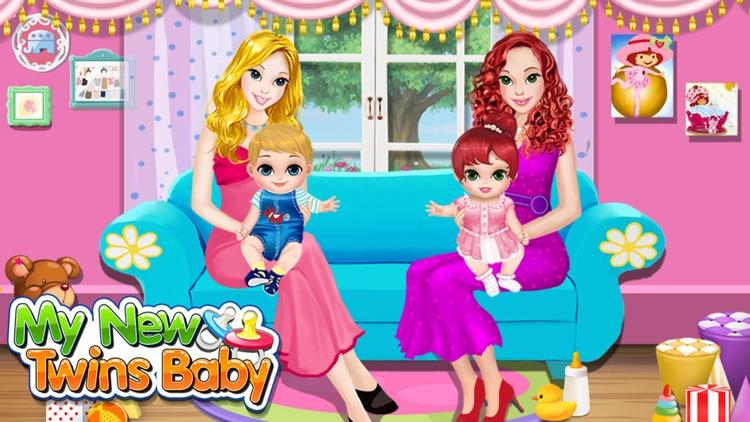 Baby Twins Play House  Free Kids Games! screenshot-4