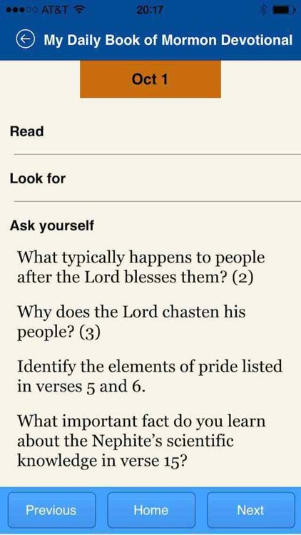 My Daily Book of Mormon Devotional screenshot-3