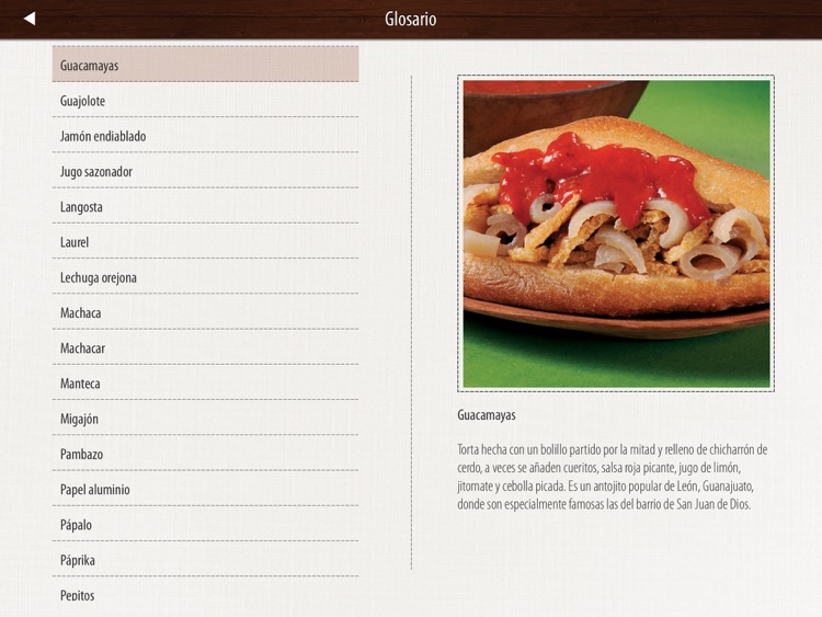 Tortas Mexicanas screenshot-3