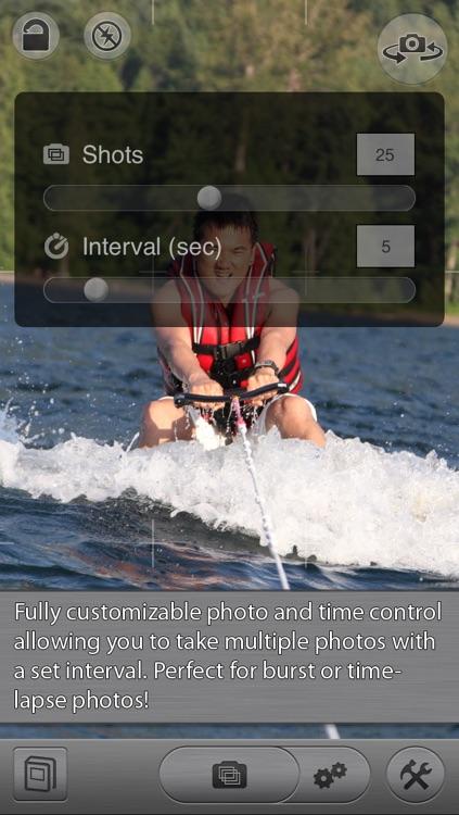 CameraSharp - Anti Shake, Burst, Time Lapse, Self Timer Camera screenshot-4