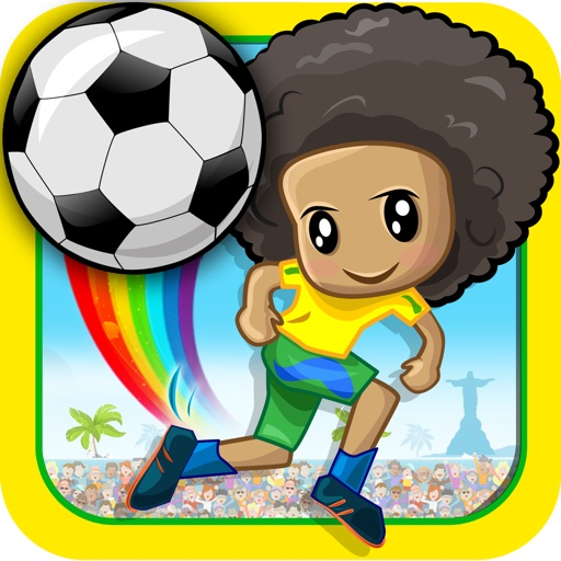 Football Rainbow Flick : Best free game for football fans