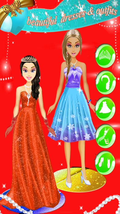 Princess Prince Wedding Salon, beauty fashion girls kids games screenshot four