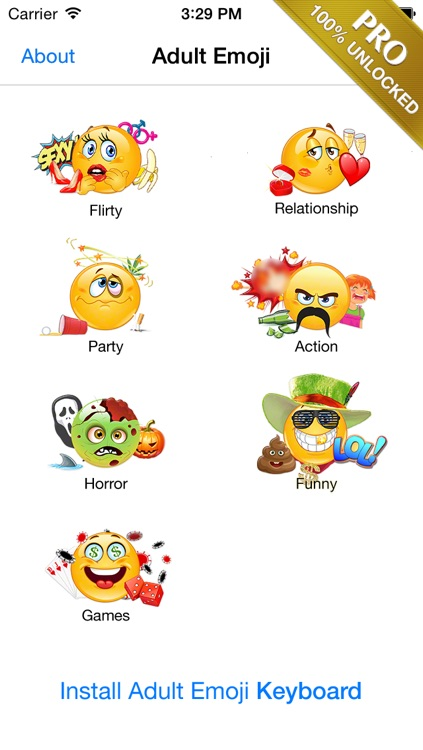Adult Emoji Icons PRO - Romantic Texting & Flirty Emoticons Message Symbols screenshot-4