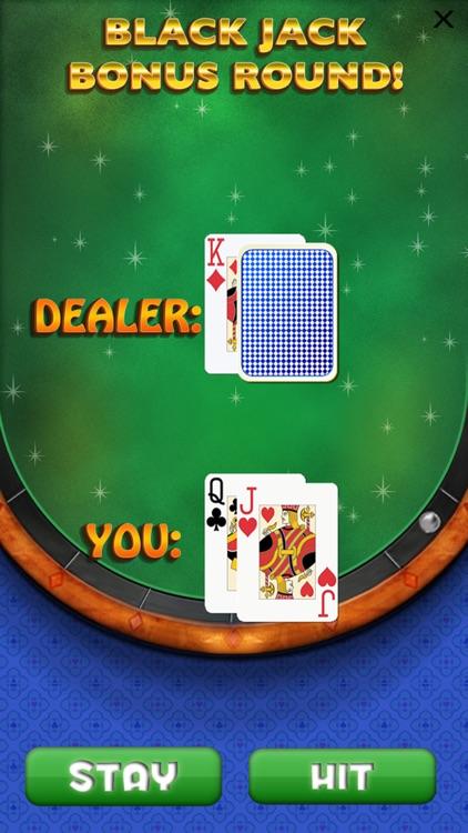 `Lucky Gold Vegas 777 Slots - Slot Machine with Casino 21 Blackjack, Prize Wheel