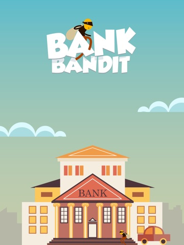 Bank Bandit - Runaway with that Gold Thief!-ipad-0