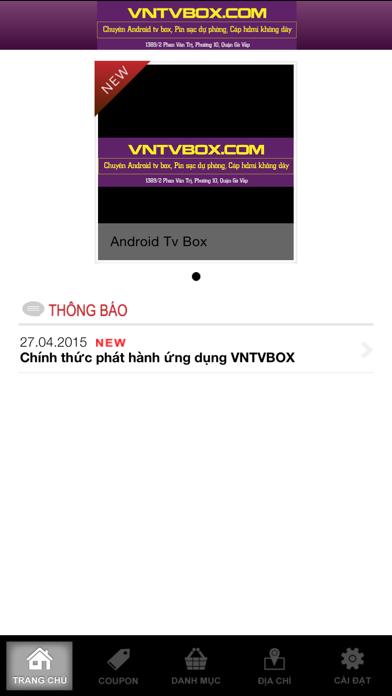 VNTVBOX - Android Tv Box Screenshot on iOS