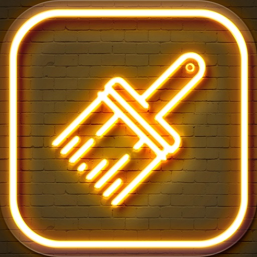 Cool Neon Wallpapers – Glowing and Sparkling Background.s for Retina Home Screen Free
