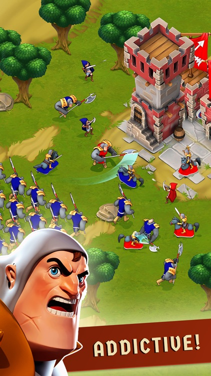 War of Empires : Clash of the Best by Fun Games For Free screenshot-1
