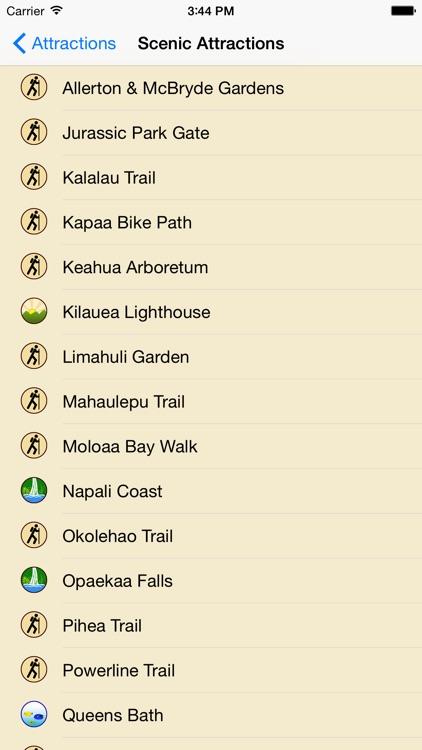 Kauai GPS Tour Guide screenshot-3