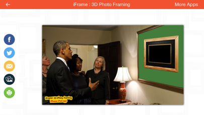 iFrame : 3D Photo Framing Lite screenshot two