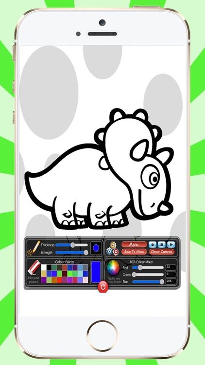 100 Dinosaurs To Paint screenshot-3