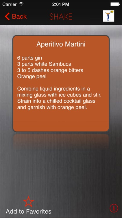 SHAKE : Martini Recipes screenshot-2