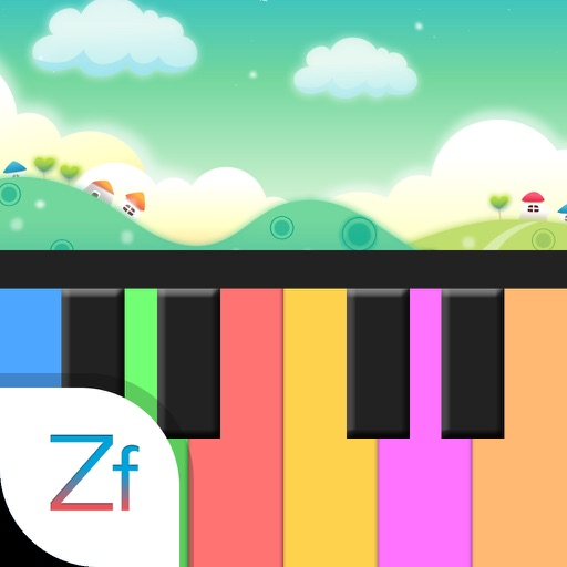 Colored Piano
